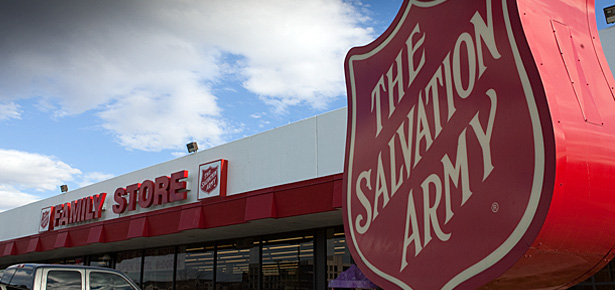The Salvation Army Family Thrift Stores are loaded with gently used clothing and household items.