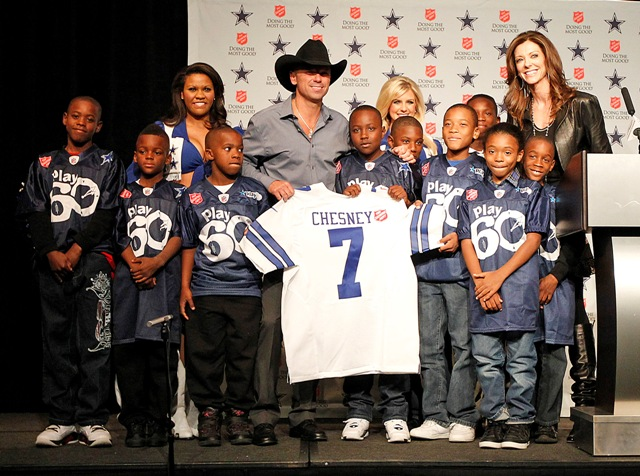 Kenny Chesney &amp; The Salvation Army