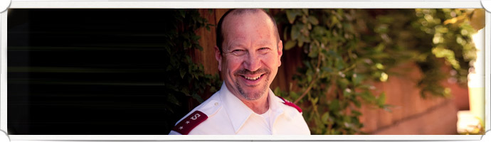 It is The Salvation Army's policy to respect and protect the privacy of  our visitors