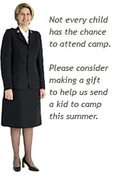 Not every child has the chance to attend summer camp.