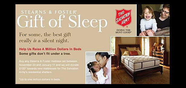 The Salvation Army: Always there when and where you need us.