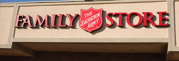 alvation Army Family Stores are loaded with gently used items